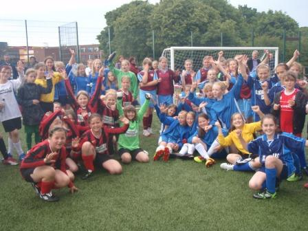 Durham City Schools Sports Partnership Girls Football Season Finale